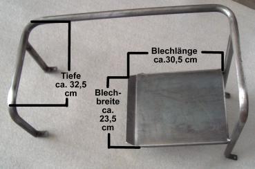 Sitzgestell Sitzbügel Beifahrer für Deutz D15 rechts D-Serie Schlepper Neu 15106