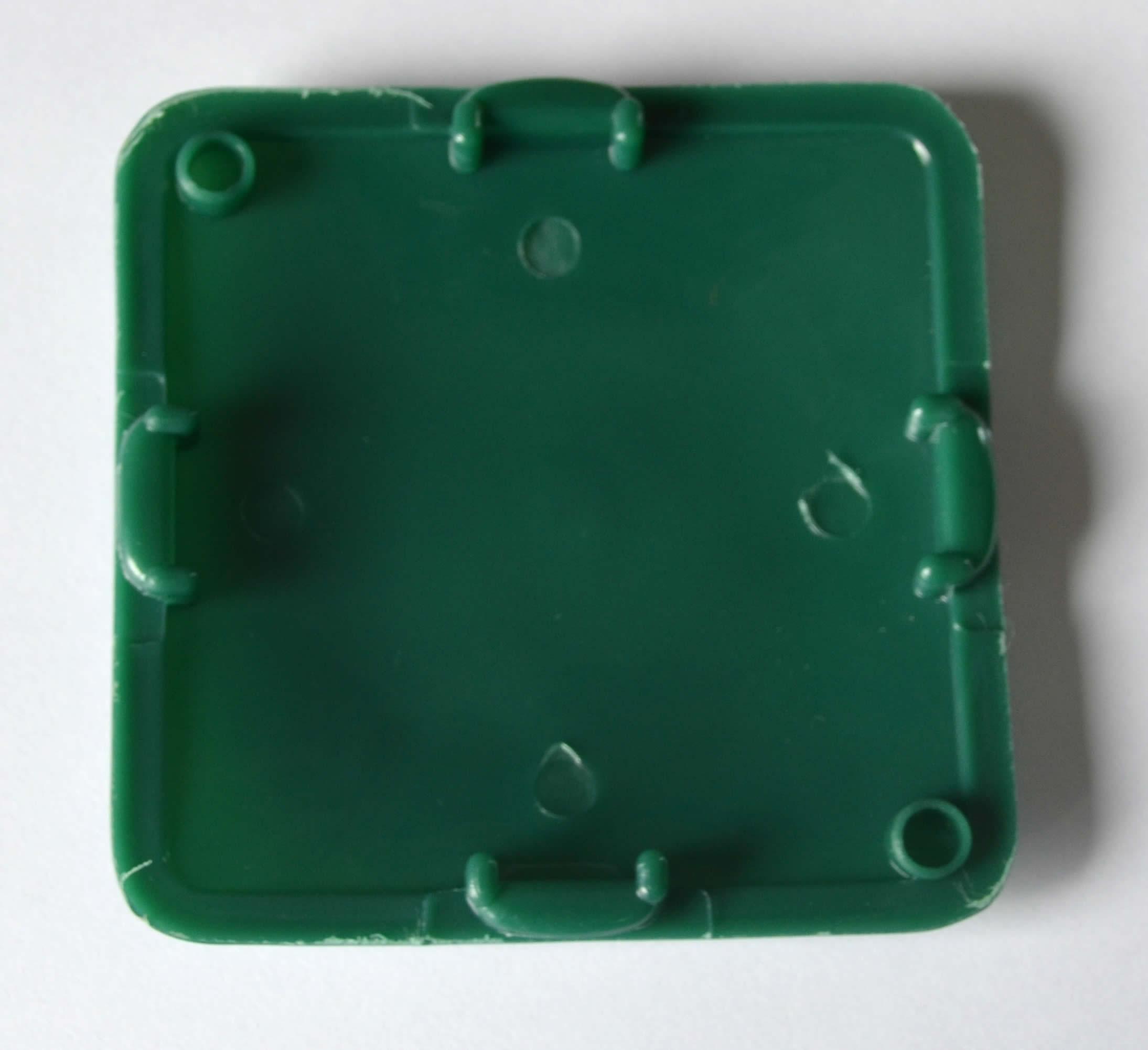 Verschlussdeckel grün passend für Deutz D-Serie 89 mm x 89 mm Abdeckung    15034